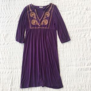 Fossil Embroidered Floral Dress S